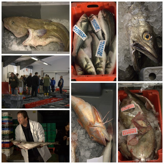 Newlyn Fish Market Collage