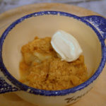 Apple and Quince Crumble