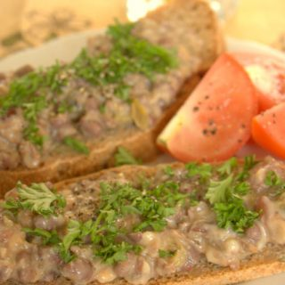 A vegan faux smoked fish pate - quick, easy and sure to satisfy
