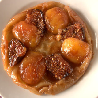 Recipe: Fig, Apple and Cardamom Tarte Tatin