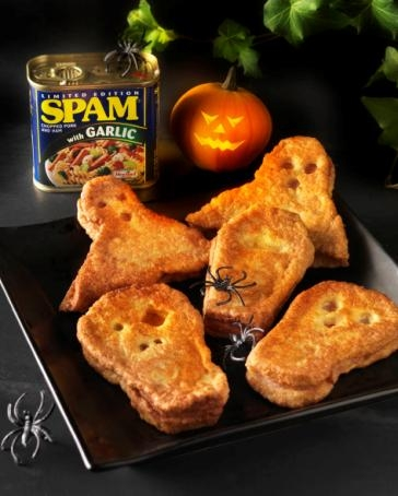 Delicious ghoulish fritters perfect for Halloween
