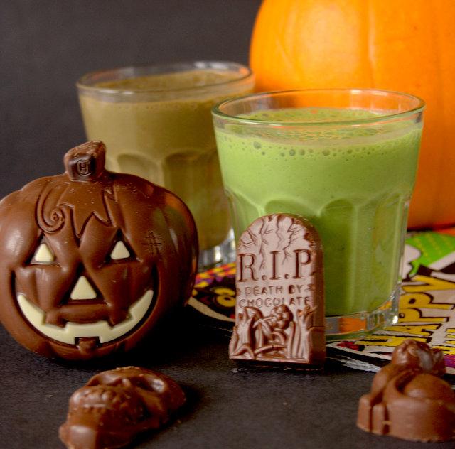 Toxic Swamp Halloween Smoothie