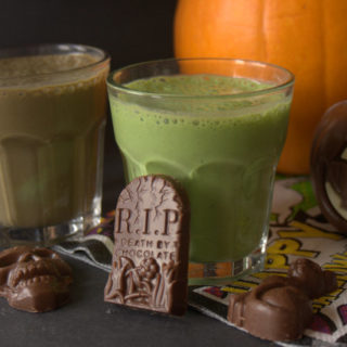 Recipe: Toxic Swamp Halloween Smoothie