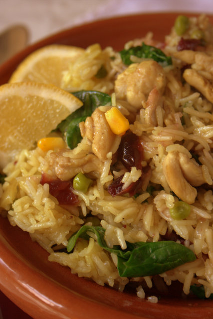 Fruity Turkey Biryani