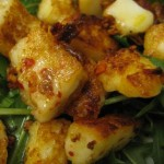 Fried Marinated Halloumi