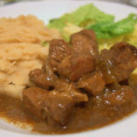 Recipe: Japanese Beef Casserole with Miso Wasabi Mash