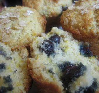 Easy Vegan Lemon & Blueberry Muffin Recipe
