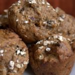 Prune and Walnut Muffins