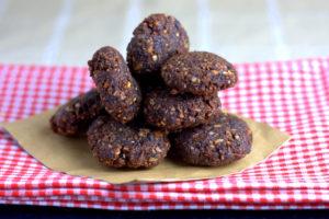 Chocolate Orange Date and Seed Balls