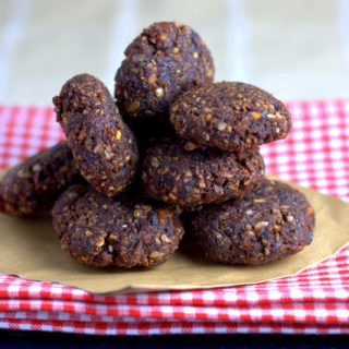 Chocolate Orange Date and Seed Balls