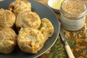Dukkah & Sun Dried Tomato Muffins