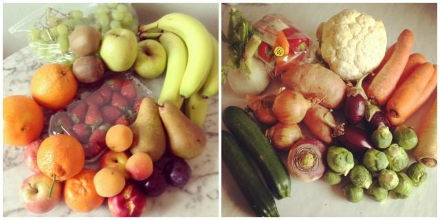 Food co-op fruit and veg