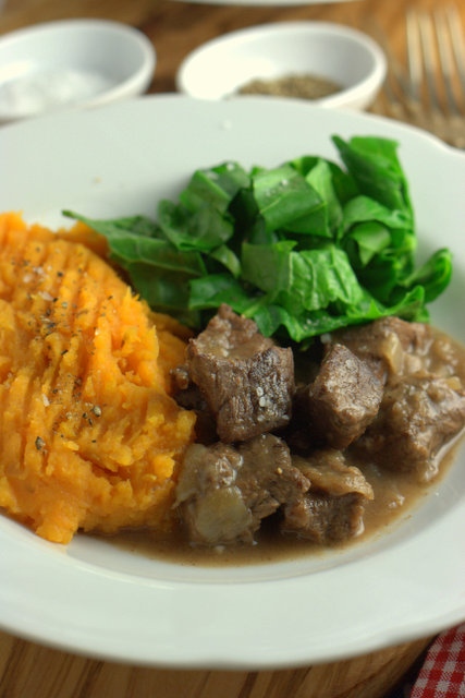 Simple Beef Casserole - Made in the Slow Cooker