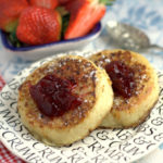French Toast Crumpets - Featured