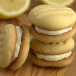 Lemon fork biscuits