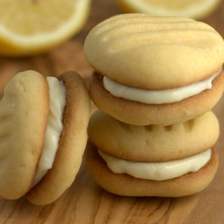 Recipes: Delicious Cream Cheese Filled Lemon Biscuits {Egg Free}