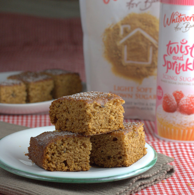 Vegan Date and Orange Cake with Whitworths Sugars
