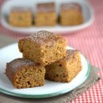 Vegan date and orange cake