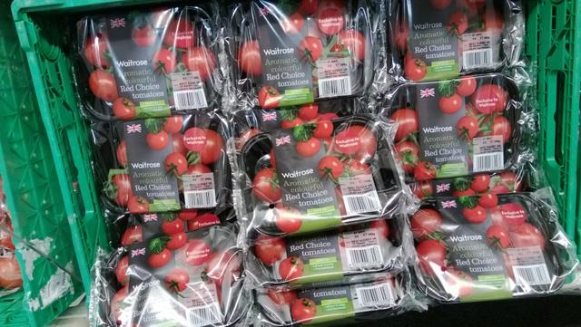 Colourful Waitrose Tomatoss