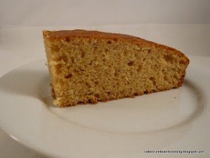 Golden syrup banana cake for Credit Crunch Munch