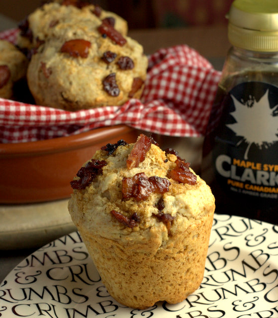 Recipe for Maple Syrup and Bacon Muffins - Perfect for Breakfast