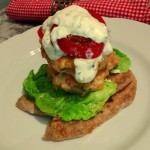 Scandi Salmon Burger