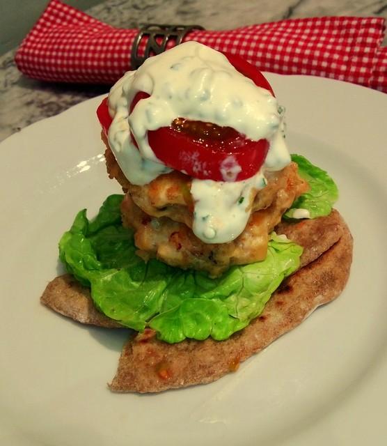 Scandi Salmon Burger