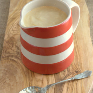 Recipe: One Step Vitamix Custard {Keto, Gluten Free}