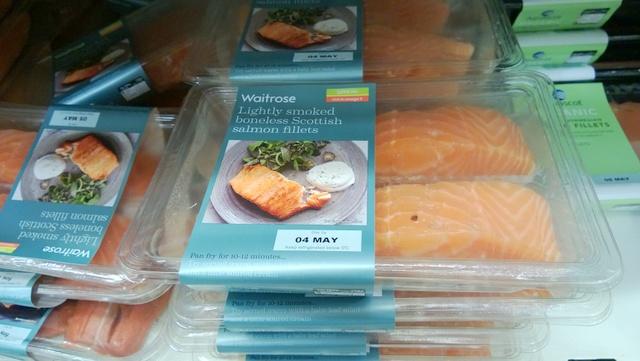 Waitrose Salmon