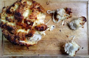 Cheesy pull apart garlic bread for Credit Crunch Munch