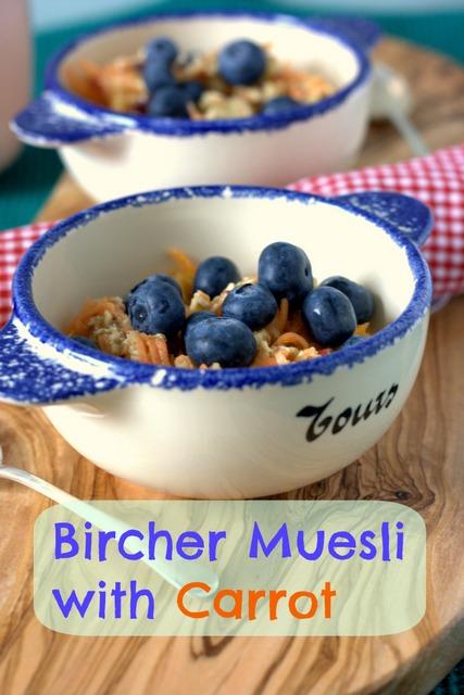 Carrot Bircher Muesli