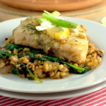 Recipe: One Pan Speltotto with Poached Fish