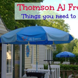 Thomson Al Fresco need to know