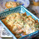 Fish Pie Stuffed Pancakes