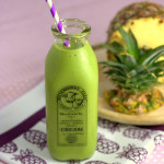 Greener Colada Smoothie - Pineapple, Coconut and Spinach
