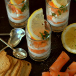 Smoked Salmon Verrines