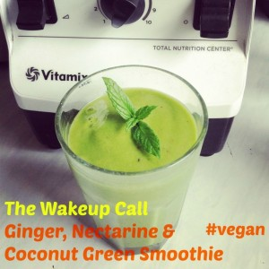 Wakeup call Ginger Green Smoothie