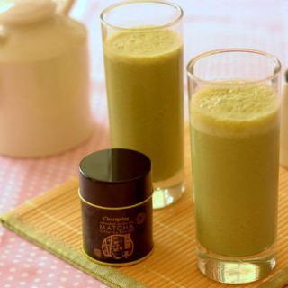 Recipe: Coconut, Banana & Matcha-ccino & Happy 20th Birthday to Clearspring!