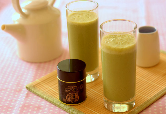 Clearspring matcha smoothie