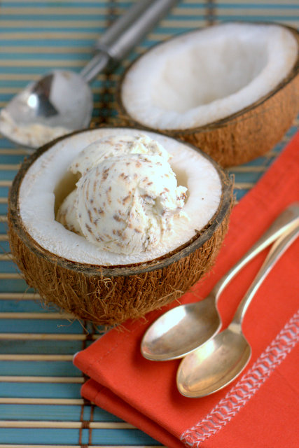 No Churn Bounty Ice Cream