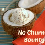 No Churn Bounty ice cream c