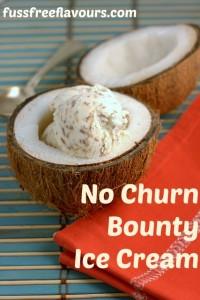 No Churn Bounty ice cream c