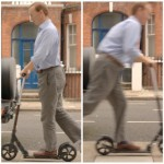 Ed on Micro Scooter