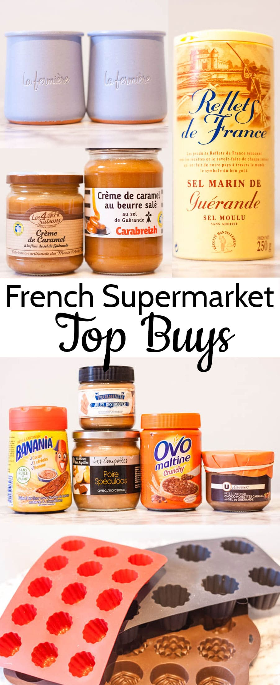 Wondering what to buy in a French supermarket? These are some of our favourite products to hunt out.
