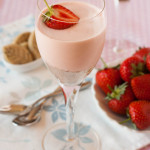 Jubilee strawberry and rose mousse