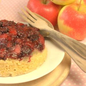 Estivale Apple & Blackberry Steamed Pudding