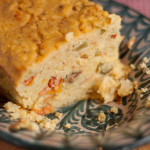 Adaptable and frugal red lentil loaf