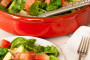 Kale Chard Watermelon and Avocado Salad_