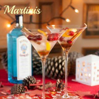 Recipe: Bombay Sapphire Christmas Martinis