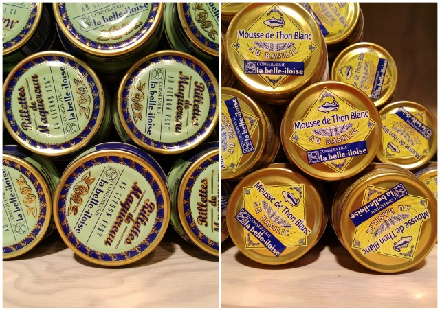 Tinned fish from the Belle Iloise Cannery